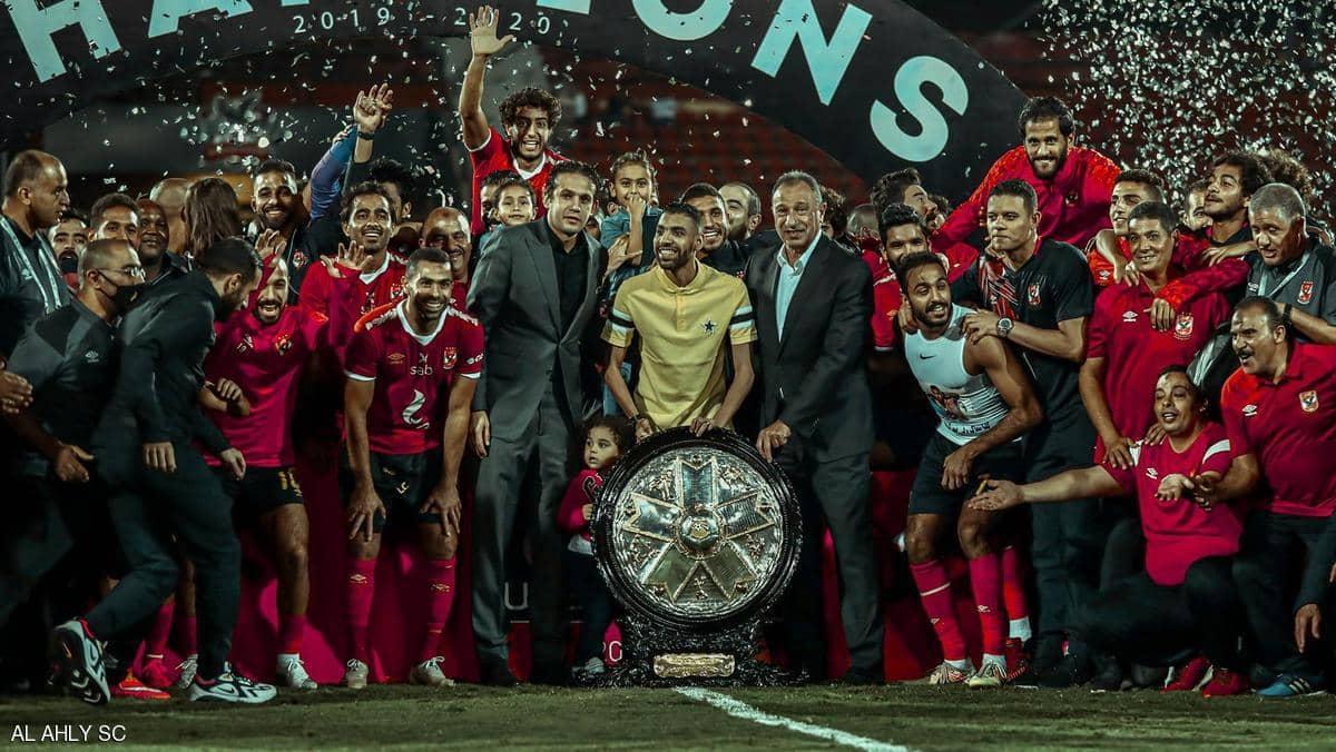 """الأهلي يحتفل بـ""""دوري مؤمن زكريا"""" بعد أطول موسم في التاريخ"""