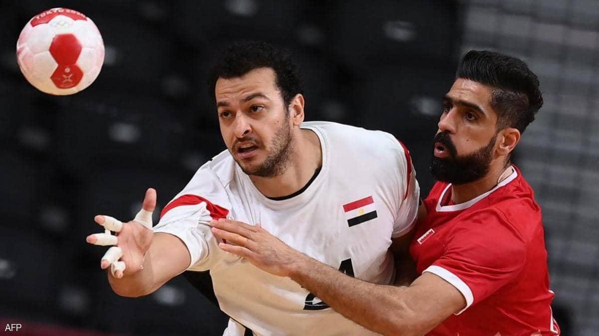 مصر لربع نهائي منافسات اليد طوكيو 2020 بفوزها على البحرين